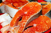 Fresh fish pieces. — Stock Photo