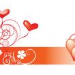 Valentines Day background — Stock Vector #2120891