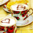 Stock Photo: Cappuchino