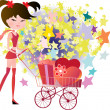 Royalty-Free Stock Vector Image: Shoping