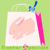 Easter Specials — Vector de stock