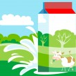Royalty-Free Stock : Milk Carton
