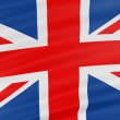 Royalty-Free Stock Photo: 3D United Kingdom Flag