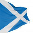 Royalty-Free Stock Photo: 3D Scottish flag