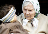 Great-grandmother. — Stock Photo