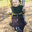 On a swing. — Stock Photo #2593168