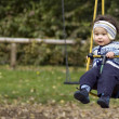 Ona swing. — Stock Photo #2593189