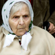 Portrait of the old woman. - Stock Photo