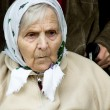 Stock Photo: Portrait of the old woman.