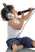 Sing baby. — Stock Photo