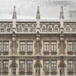Snowy Munich City Hall — Stock Photo #1841648