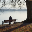 Lonely Man — Stock Photo