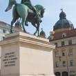Stock Photo: MaximiliVon Bayern Statue