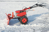 Snow Removal Equipment — Stock Photo