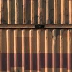 conteneur de transport métallique — Photo