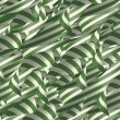 Stock Photo: Ribbons in Green and White