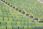 Empty Stadium Seating — Stock Photo