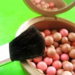 Blusher and brush — Stok Fotoğraf #1861212