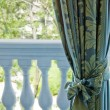 Stockfoto: Luxury curtains over window