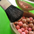 Stock Photo: Blushes and brushes