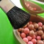 Blushes and brushes — Stock Photo