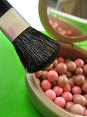 Blushes and brushes — Stock Photo