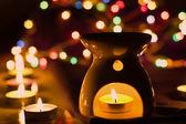 Aroma lamp — Stock Photo