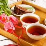 Morning tea — Stock Photo