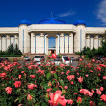 アルマトイ, カザフスタン, 博物館 — ストック写真