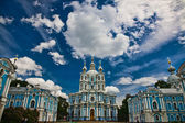 Smolny cathedral St.-Petersburg — Stock Photo