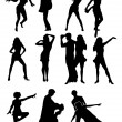 Stock Vector: Dance