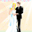 Royalty-Free Stock Imagem Vetorial: Wedding