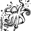 Royalty-Free Stock Vector Image: Octopus