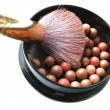 Bronze pearls - Foto Stock