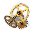Mechanism of clock - Foto Stock