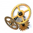 Mechanism of clock — Stock Photo