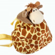 Children's Backpack-Giraffe - Stock Photo
