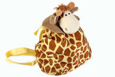 Children's Backpack-Giraffe — Stock Photo