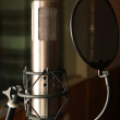 Condenser studio microphone — Stock Photo