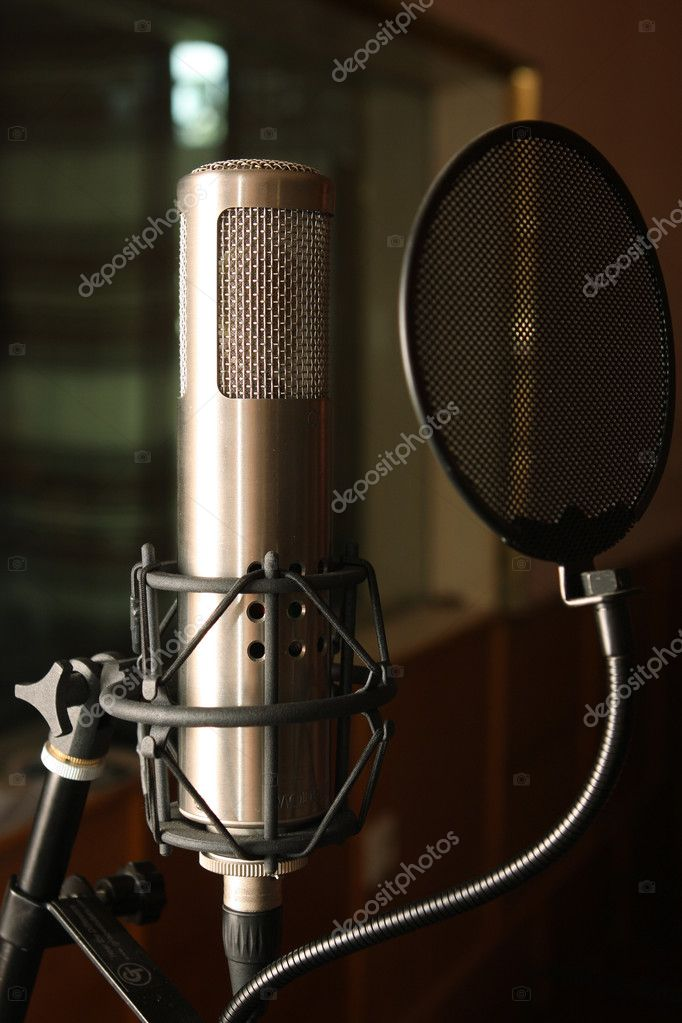 Condenser studio microphone  Stock Photo #2084446