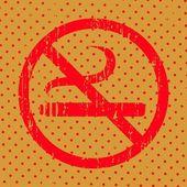 Vector No smoking — Stock Vector