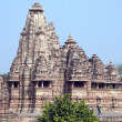 Khajuraho, India, Lakshmana Temple - Stock Photo