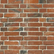 Stock Photo: Brick from red clay