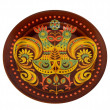 Stock Photo: Decorative plate