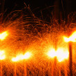Stock Photo: Sparklers