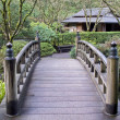 Bridge at Japanese Garden — Stock Photo