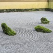 Stock Photo: Japanese Zen Sand Garden