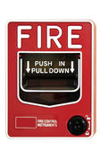 Fire Alarm Control Switch — Stock Photo