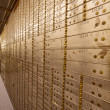 Stock Photo: Bank Safe Deposit Boxes