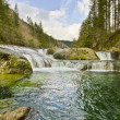 Naked Falls in Washougal River — Stock Photo